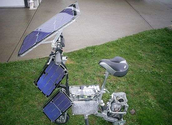 DIY Solar Bikes