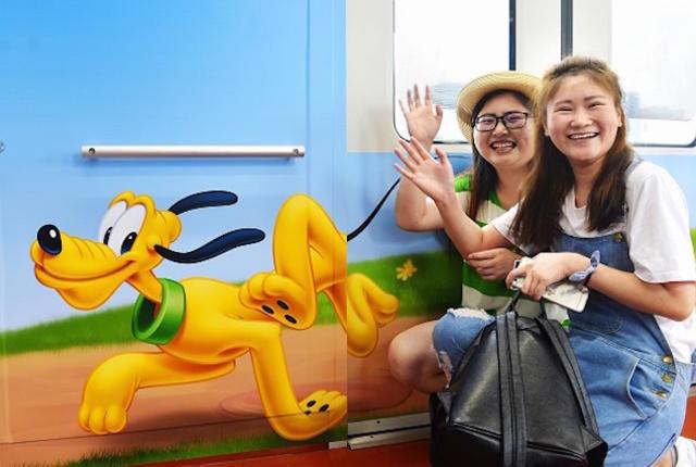 Disney-Themed Transportation