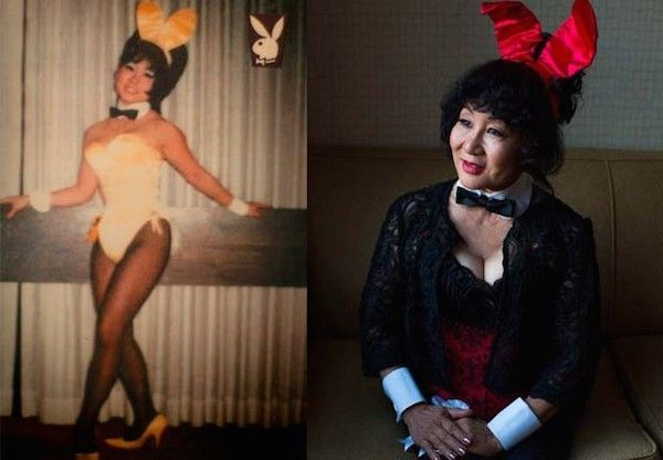 Then-and-Now Playboy Bunnies