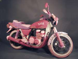 Theresa Honeywell Knit Motorcycle