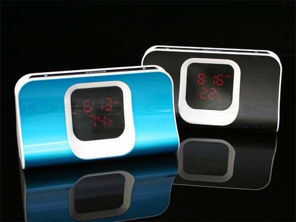 thermo alarm clock