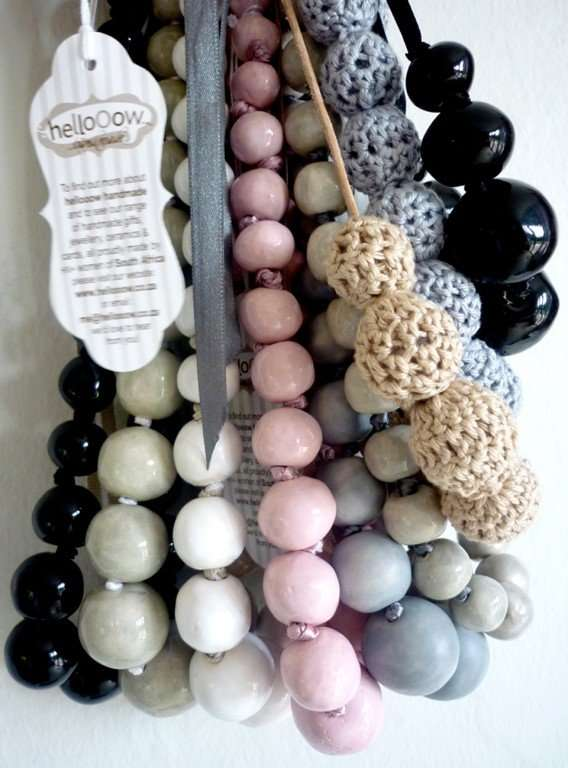Naturalistic Beaded Necklaces