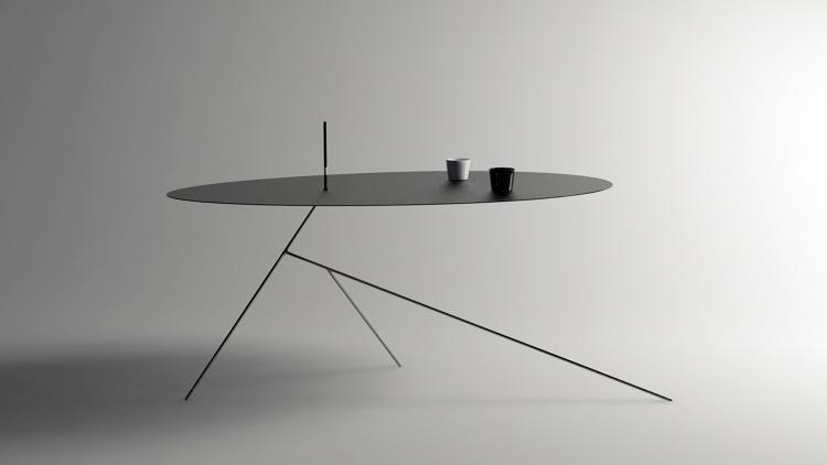 Razor Blade-Thin Tables