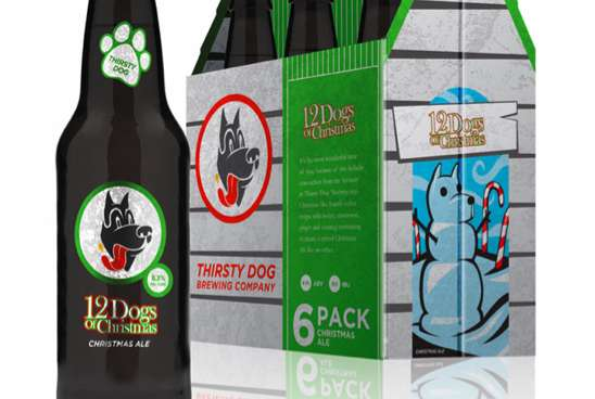 Thirsty Dog Packaging