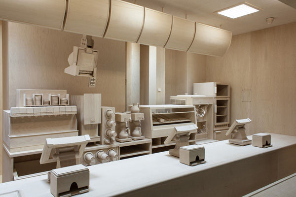 Realistically Carved Wooden Kitchens