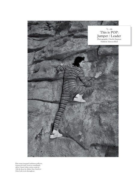 Ritzy Rock Climbing Editorials