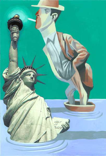 Thomas Fuchs Statue of Liberty Paintings