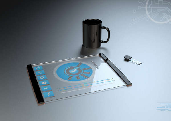 Thomas Laenner Transparent Tablet Concept