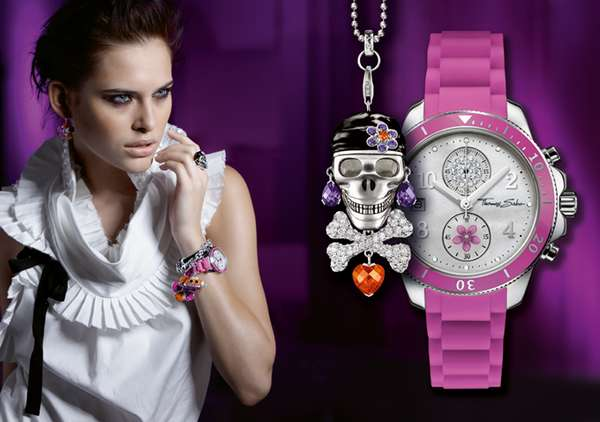 Color-Popping Timepieces