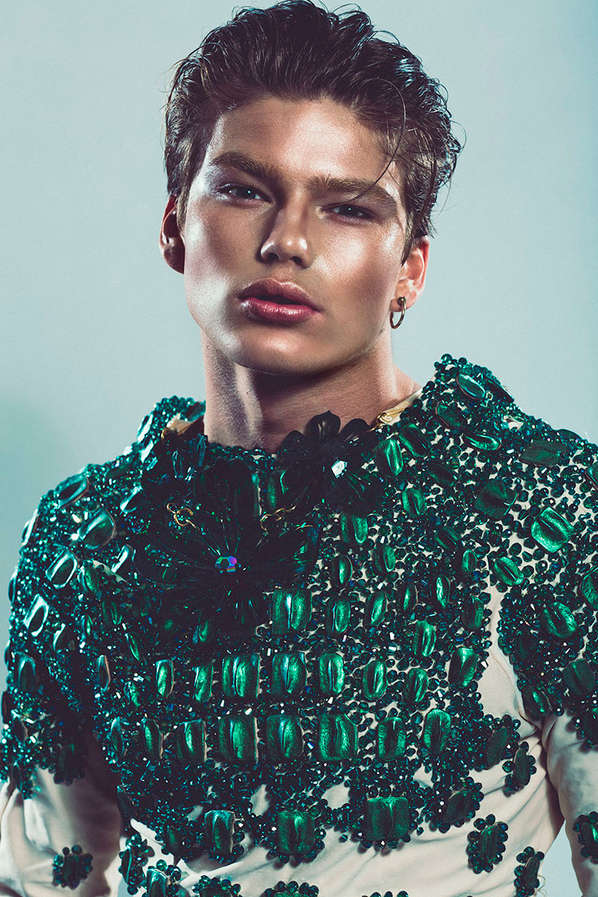 Jewel-Encrusted Opulence Editorials