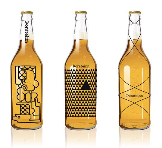 Art Deco Alcohol Bottles
