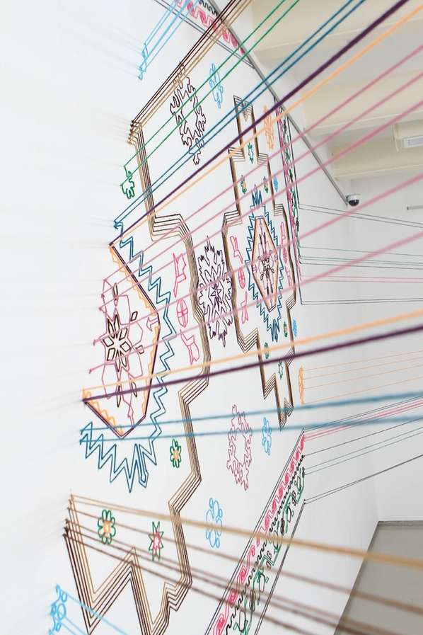 Thread Installation by Faig Ahmed