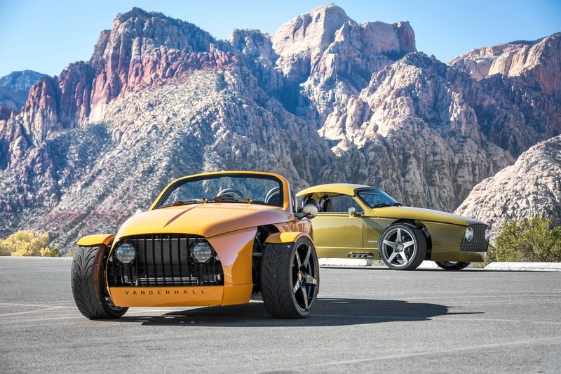 Tri-Wheel Sports Cars