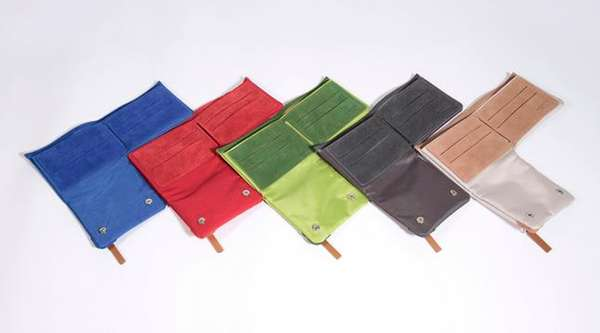 Unconventional Tri-Fold Wallets