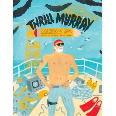 thrill murray coloring book