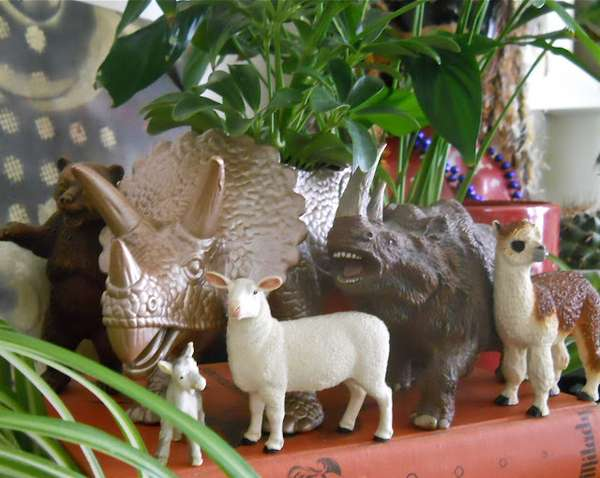 DIY Repurposed Toy Planters