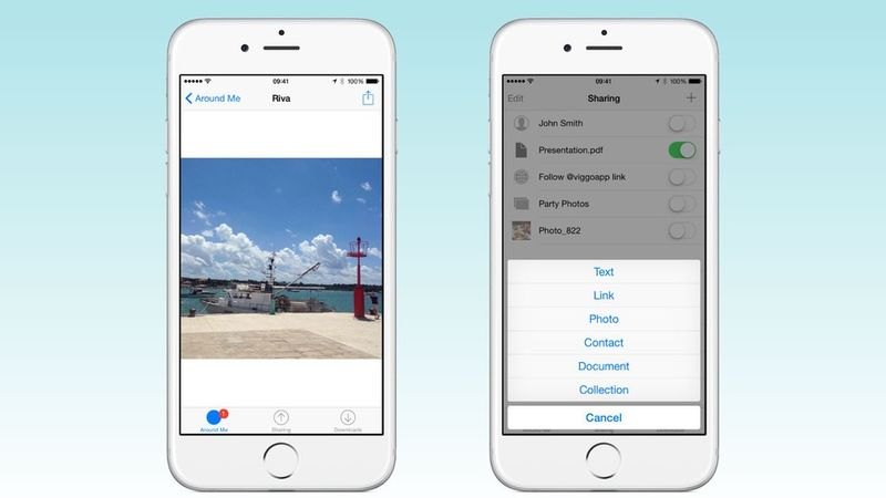 Simplistic Sharing Apps