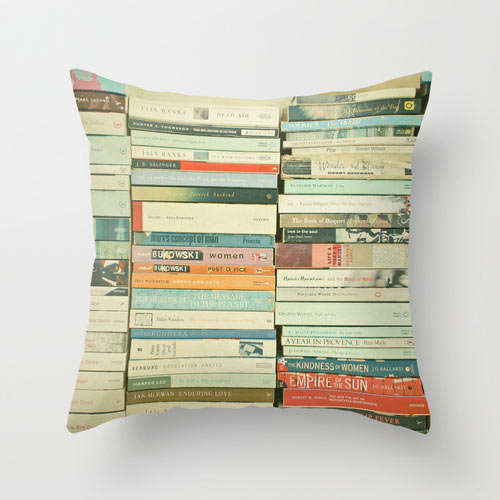 Literary Graphic Throw Pillows
