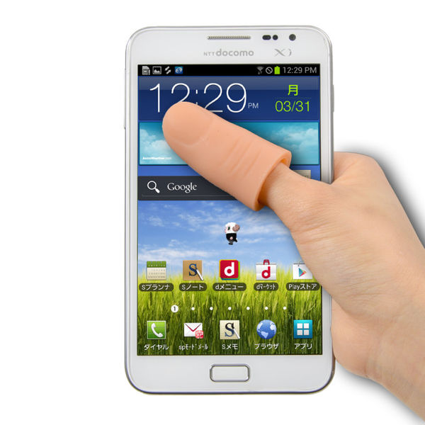Finger-Shaped Touchscreen Tools