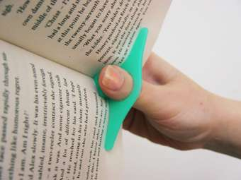 One-Handed Reading Gadget
