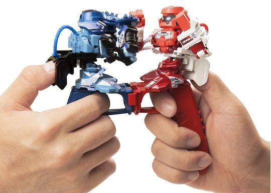 Robot Thumb Wrestlers