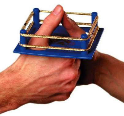 Toy Thumb Wrestling Rings