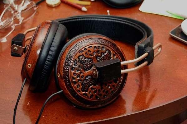 Luxurious Lumber Headsets