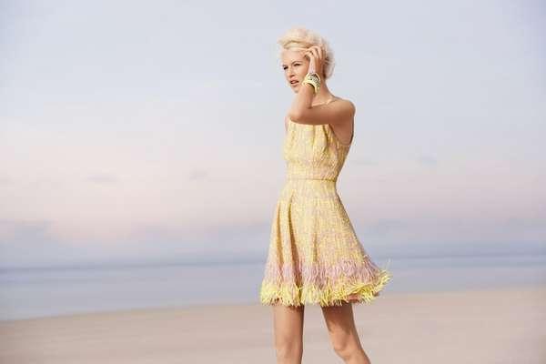 Vintage-Inspired Pastel Fashion