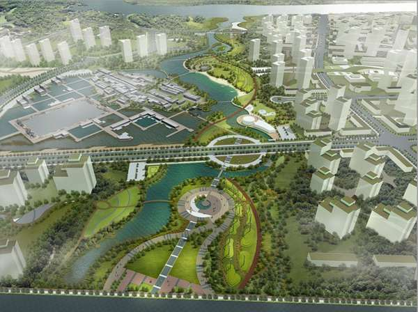 Tianjin Eco City Pictures