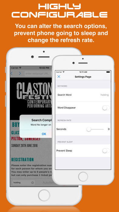 Auto-Refreshing Ticketing Apps