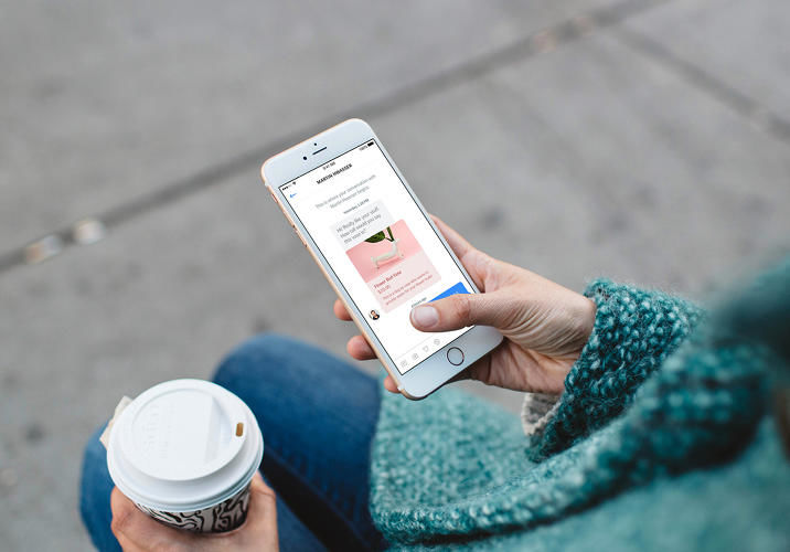 Online Shop Messaging Apps