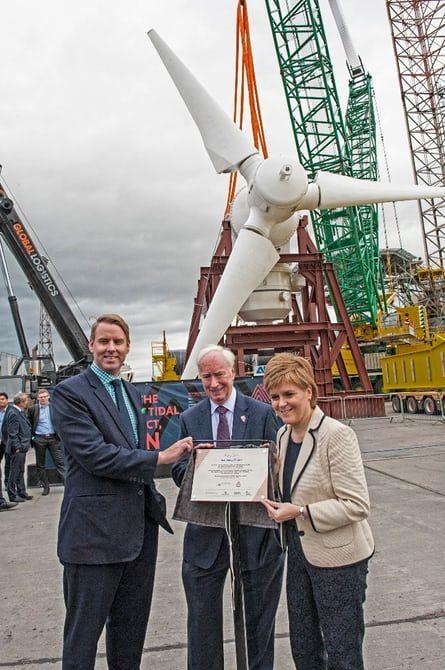 Tidal Turbine Developments