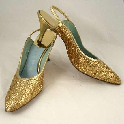 Vintage Metallic Couture