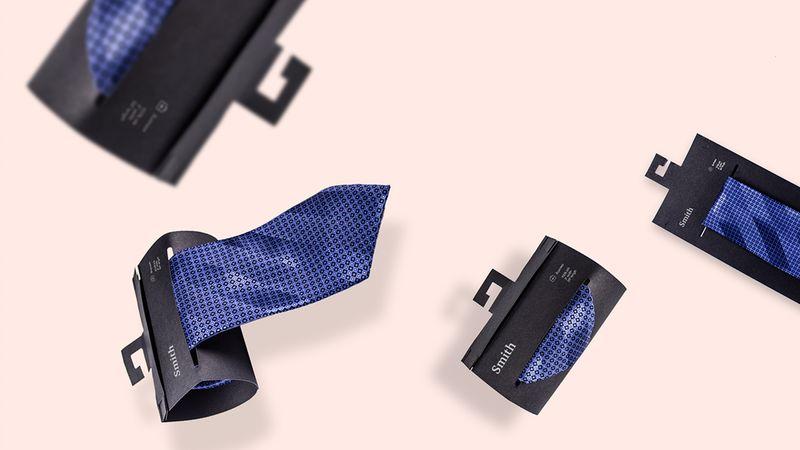 Rolled Tie Packaging