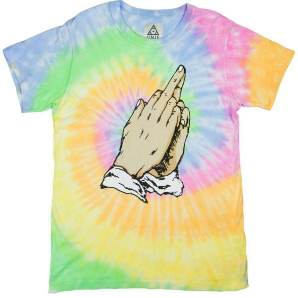 Tie-Dyed Blasphemy Tops