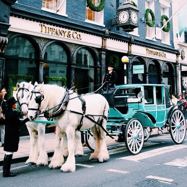 tiffany christmas carriage