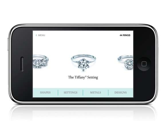 Tiffany iPhone App
