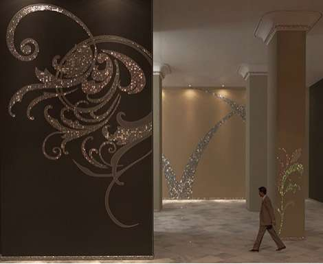 Shimmering Wall Decals
