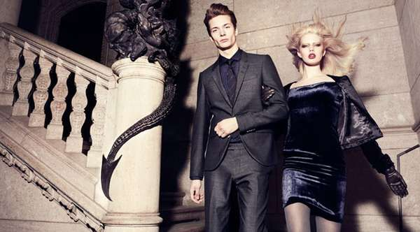 Gothic Fashion Campaigns
