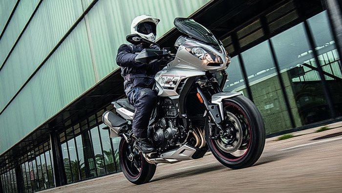 Triumphant Sport Motorbikes
