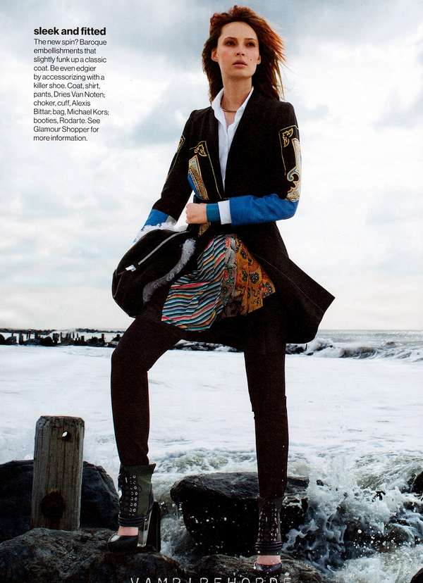 Tiiu Kuik for Glamour September 2012