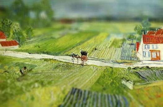 Miniaturized Famous Paintings