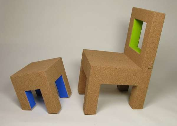 Quirky Cork Chairs
