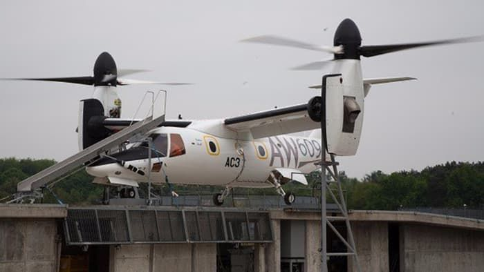 Multipurpose Tiltrotor Aircraft
