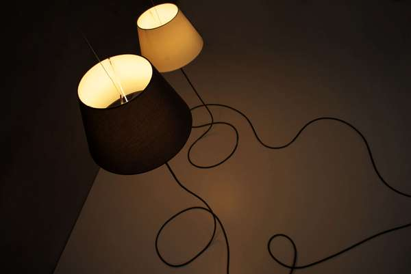 Tim Baute 'Ghost' lamp