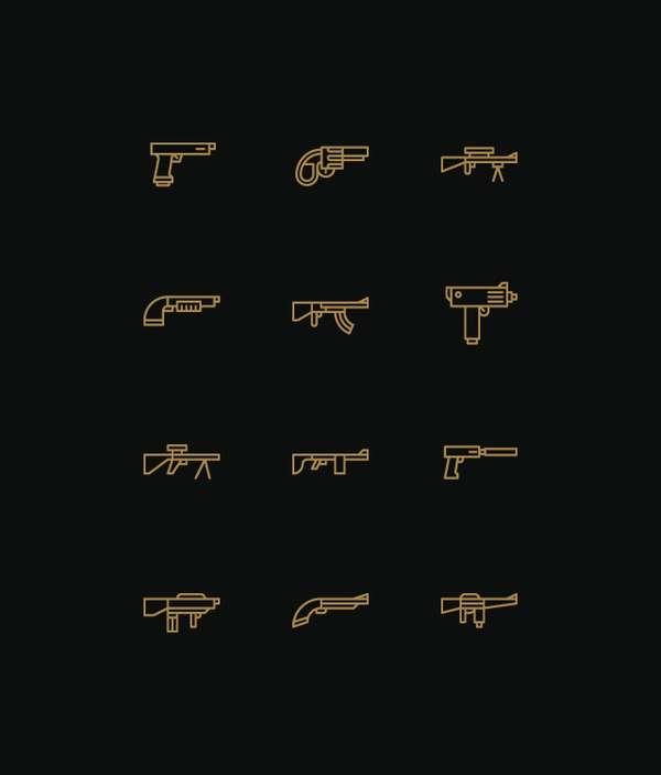Minimalist Icon Charts