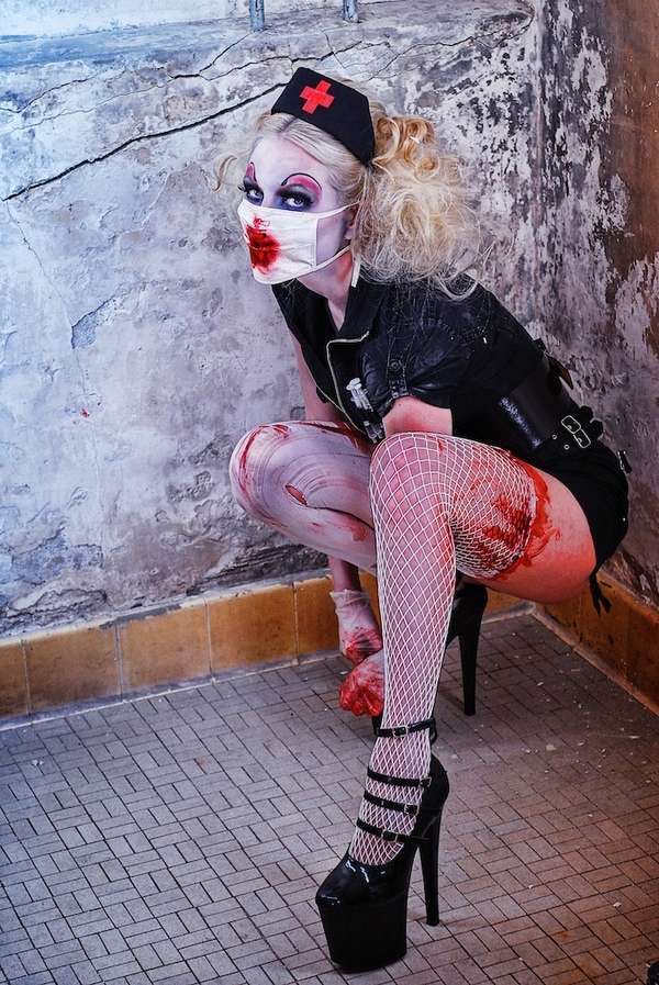 Bloody Clown Photography