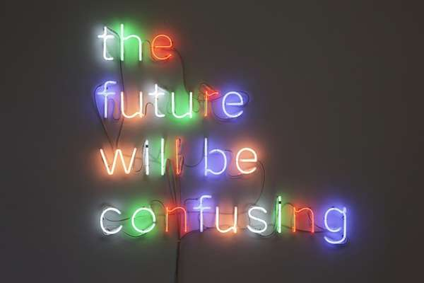 Predictive Neon Signs