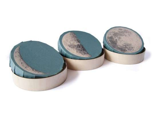 Moon Phase Cheese Packaging