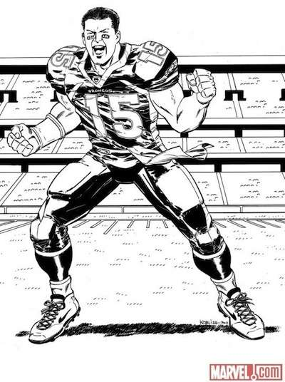 Football Sensation Superheroes